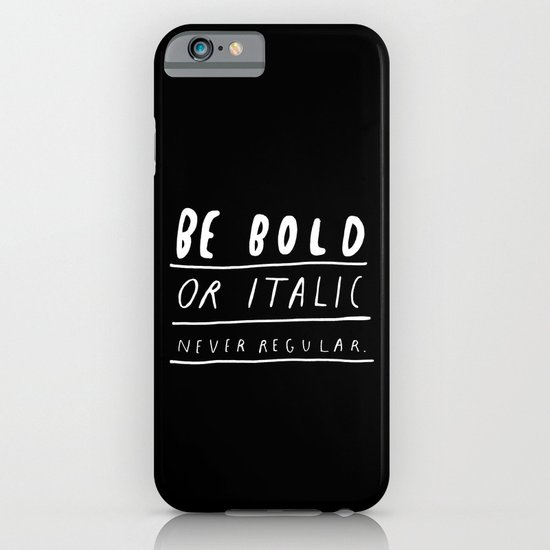NEVER iPhone & iPod Case