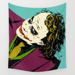 Joker So Serious Wall Tapestry