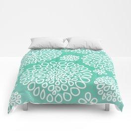 Peppermint Dandelions Comforters