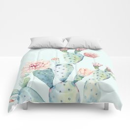 Cactus 2 #society6 #buyart Comforters