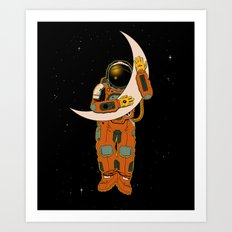 My Moon Art Print