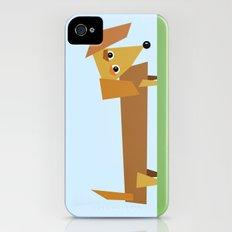 Dachshund iPhone (4, 4s) Slim Case