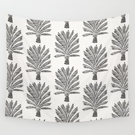 Palm Tree – Black Wall Tapestry