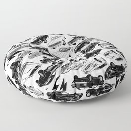 MUSCLE CAR MANIA II Floor Pillow