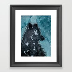The Book of Right On Framed Art Print