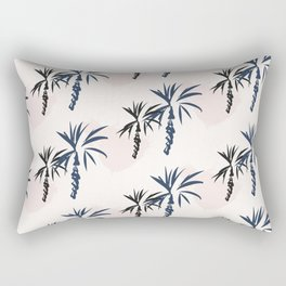 Double palm pattern Rectangular Pillow