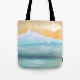 Sunrise Fuji Mount Tote Bag