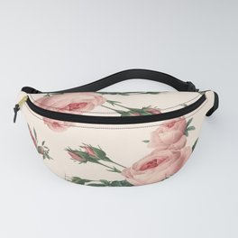 Rose Garden Butterfly Pink Fanny Pack