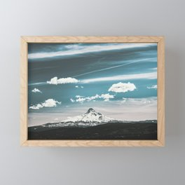 Mountain Morning - Nature Photography Framed Mini Art Print