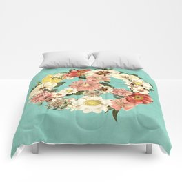 Botanica Peace sign Comforters