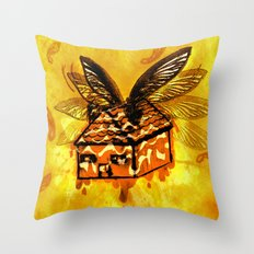 Maple House Fly Throw Pillow