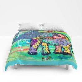 ENIGMA ELEPHANTE Comforters