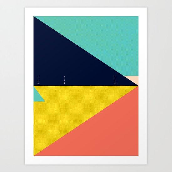 Secret Surf Map — Matthew Korbel-Bowers  Art Print