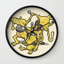 Pokémon - Number 63, 64 & 65 Wall Clock