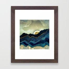 Post Eclipse Framed Art Print