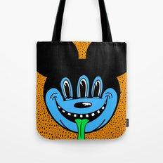 REPTILIAN MICKEYES. (Blue Face). Tote Bag