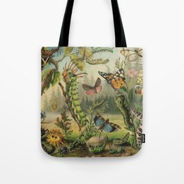 Cute Caterpillar Tote Bag