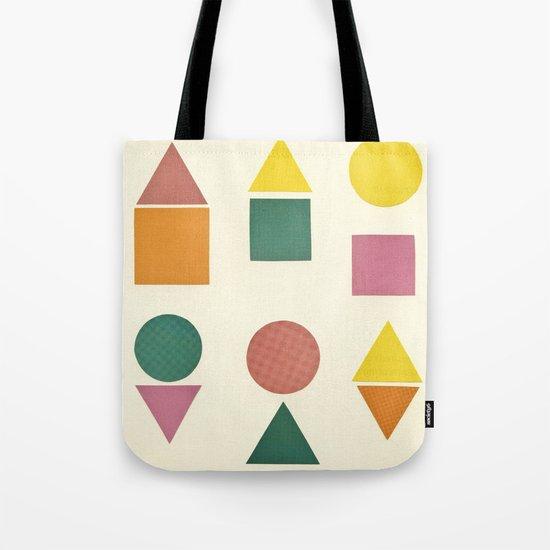 Shape Sorter Tote Bag