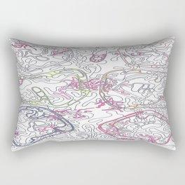 Six Stones of the Iris  Rectangular Pillow