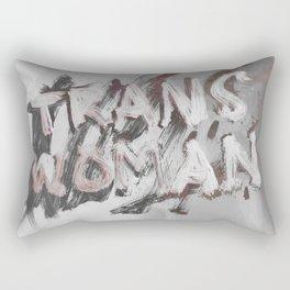 Trans Woman Rectangular Pillow