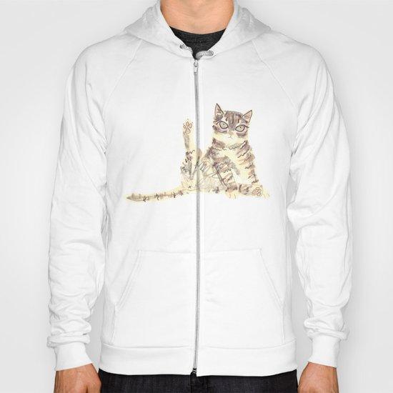 Cheeky Kitty Cat Hoody