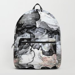 Floral Graphic Backpack