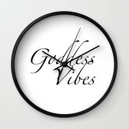Goddess Vibes Wall Clock