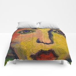 Painted Lady Comforters