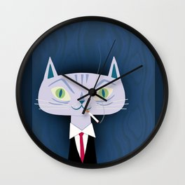 One Cool Cat Wall Clock