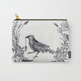 Crystal Raven Carry-All Pouch