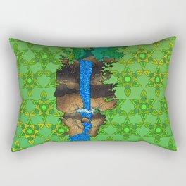 Munising Falls Rectangular Pillow