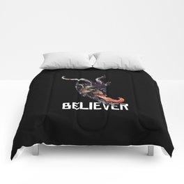 Krampus Believer Gruss Vom Merry Christmas Demon Comforters