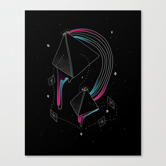 In Deep Space Canvas Print