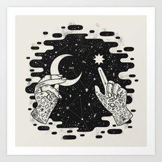 Look to the Skies Art Print