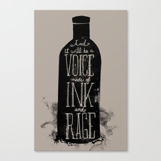 Rum Diary Canvas Print