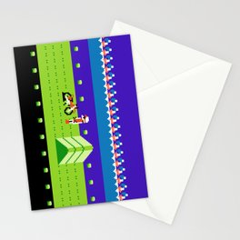 Punctured Bike Stationery Cards