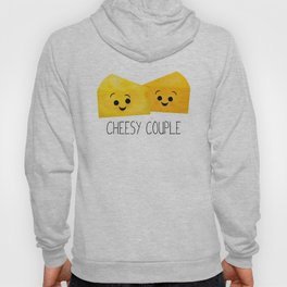 Cheesy Couple | Swiss & Cheddar Cheese Hoody