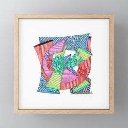 Beautiful F Word Framed Mini Art Print