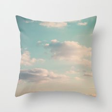 An endless affair with the upper atmosphere Throw Pillow