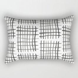 Hashtag, White Rectangular Pillow