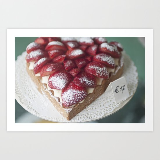 Sweetheart Pie Art Print