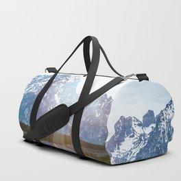 Mountain Road - Grand Tetons Nature Landscape Photography Duffle Bag