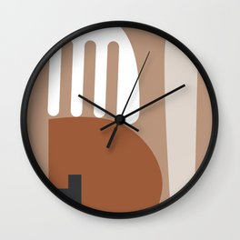 Shape study #10 - Stackable Collection Wall Clock