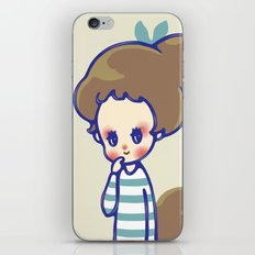 why are you smiling? iPhone & iPod Skin