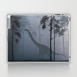 Dinosaur by Moonlight Laptop & iPad Skin