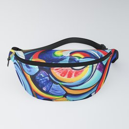 Hurricanes of the Mind Fanny Pack