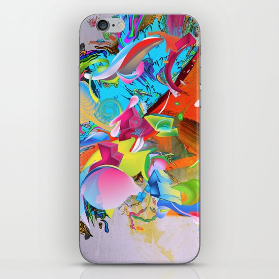 The Pulling Force iPhone & iPod Skin