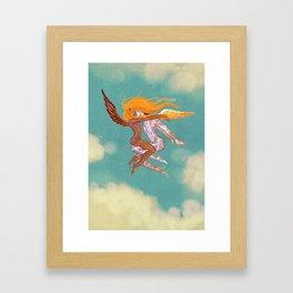 Danseurs Cosmiques 3 Framed Art Print