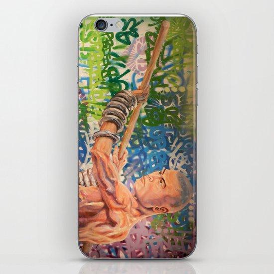 Stop Biting 3 iPhone & iPod Skin