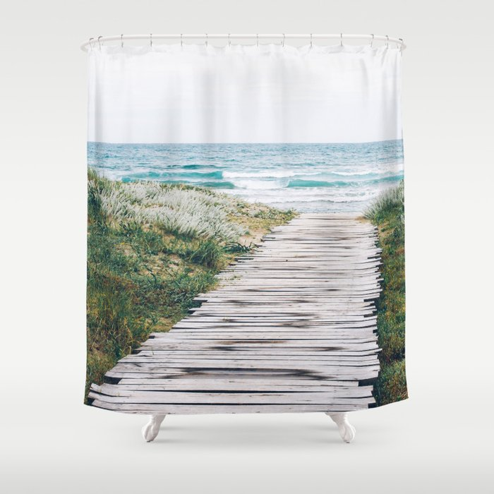 Path to my Heart Shower Curtain